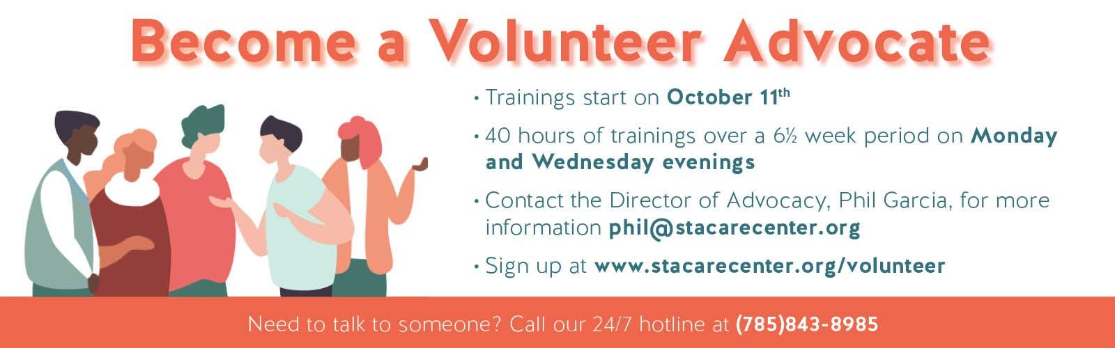 Become A Volunteer Web Banner