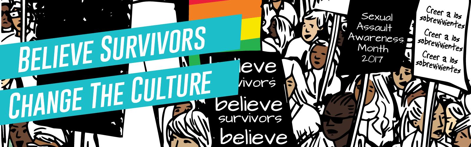 Sexual Assault Awareness Month 2017 banner